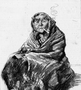 old victorian lady